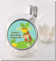 Team Safari - Personalized Baby Shower Candy Jar