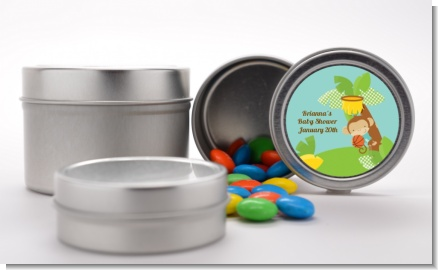 Team Safari - Custom Baby Shower Favor Tins