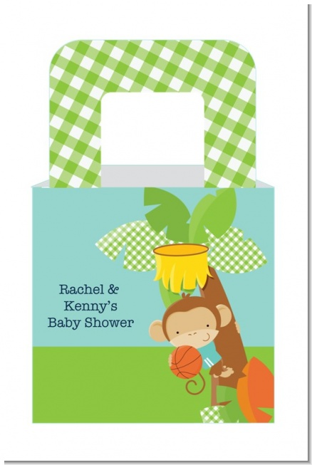 Team Safari - Personalized Baby Shower Favor Boxes