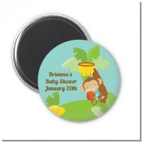 Team Safari - Personalized Baby Shower Magnet Favors