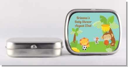 Team Safari - Personalized Baby Shower Mint Tins