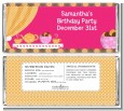 Tea Party - Personalized Birthday Party Candy Bar Wrappers thumbnail