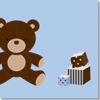 Teddy Bear Boy Baby Shower Theme