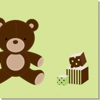 Teddy Bear Neutral Baby Shower Theme