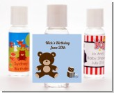 Teddy Bear - Personalized Birthday Party Hand Sanitizers Favors