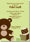 Teddy Bear Neutral - Baby Shower Invitations
