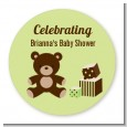 Teddy Bear Neutral - Personalized Baby Shower Table Confetti thumbnail