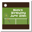 Tennis - Personalized Birthday Party Card Stock Favor Tags thumbnail