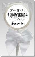 Thank You For Showering - Personalized Bridal Shower Lollipop Favors