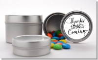 Thanks For Coming - Custom Baby Shower Favor Tins