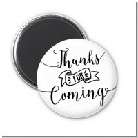 Thanks For Coming - Personalized Baby Shower Magnet Favors