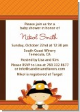 Little Turkey Boy - Baby Shower Invitations