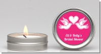 The Love Birds - Bridal Shower Candle Favors
