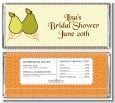 The Perfect Pair - Personalized Bridal Shower Candy Bar Wrappers thumbnail