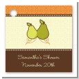The Perfect Pair - Personalized Bridal Shower Card Stock Favor Tags thumbnail
