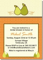 The Perfect Pair - Bridal Shower Invitations