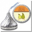 The Perfect Pair - Hershey Kiss Bridal Shower Sticker Labels thumbnail