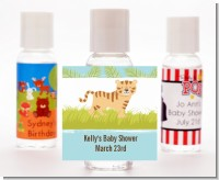 Tiger - Personalized Baby Shower Hand Sanitizers Favors