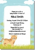 Tiger - Baby Shower Invitations