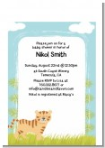 Tiger - Baby Shower Petite Invitations
