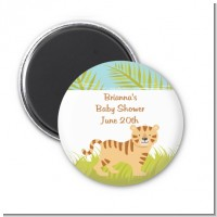Tiger - Personalized Baby Shower Magnet Favors