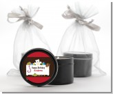 Toy Chest - Birthday Party Black Candle Tin Favors