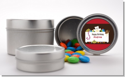 Toy Chest - Custom Birthday Party Favor Tins