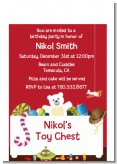 Toy Chest - Birthday Party Petite Invitations