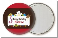 Toy Chest - Personalized Birthday Party Pocket Mirror Favors