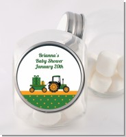 Tractor Truck - Personalized Baby Shower Candy Jar