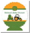 Tractor Truck - Personalized Baby Shower Centerpiece Stand thumbnail