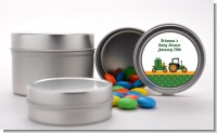 Tractor Truck - Custom Baby Shower Favor Tins