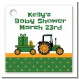 Tractor Truck - Personalized Baby Shower Card Stock Favor Tags thumbnail