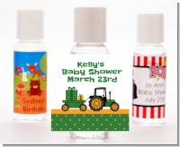 Tractor Truck - Personalized Baby Shower Hand Sanitizers Favors