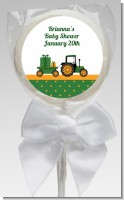 Tractor Truck - Personalized Baby Shower Lollipop Favors