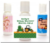 Tractor Truck - Personalized Baby Shower Lotion Favors