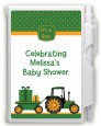 Tractor Truck - Baby Shower Personalized Notebook Favor thumbnail