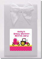 Tractor Truck Pink - Baby Shower Goodie Bags