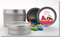 Tractor Truck Pink - Custom Baby Shower Favor Tins