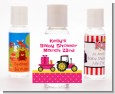 Tractor Truck Pink - Personalized Baby Shower Hand Sanitizers Favors thumbnail