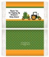 Tractor Truck - Personalized Popcorn Wrapper Baby Shower Favors thumbnail