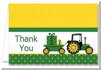 Tractor Truck - Baby Shower Thank You Cards