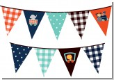 Animal Train - Baby Shower Themed Pennant Set
