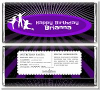 Trampoline - Personalized Birthday Party Candy Bar Wrappers