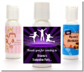 Trampoline - Personalized Birthday Party Lotion Favors