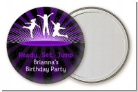 Trampoline - Personalized Birthday Party Pocket Mirror Favors