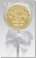 Tree Glitter String Lights - Personalized Bridal Shower Lollipop Favors