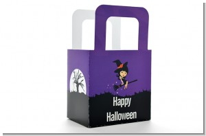 Trendy Witch - Personalized Halloween Favor Boxes