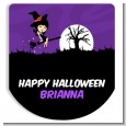 Trendy Witch - Personalized Hand Sanitizer Sticker Labels thumbnail