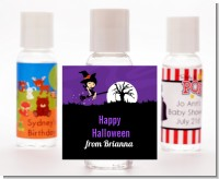 Trendy Witch - Personalized Halloween Hand Sanitizers Favors